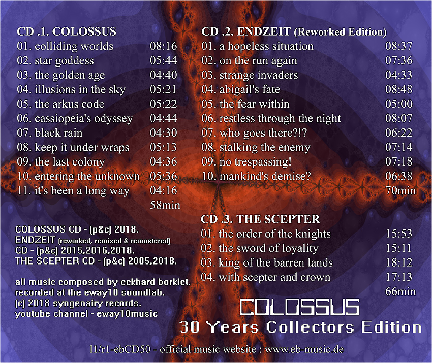 eb-Colossus - 3CD Anniversary Box