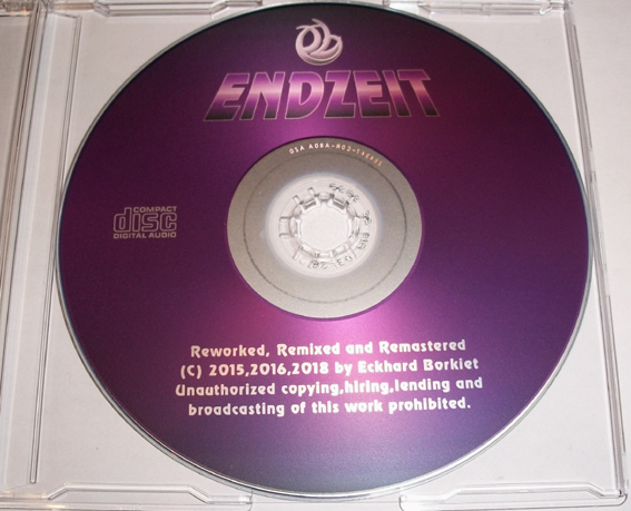 Endzeit - Reworked Remixed Remastered CD