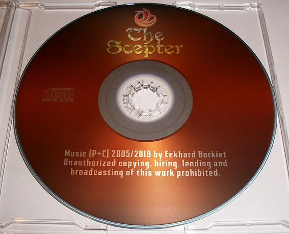The Scepter - unreleased CD Album from 2005